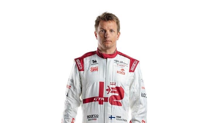 O veterano Kimi Räikkönen segue para para a terceira temporada com a Alfa Romeo