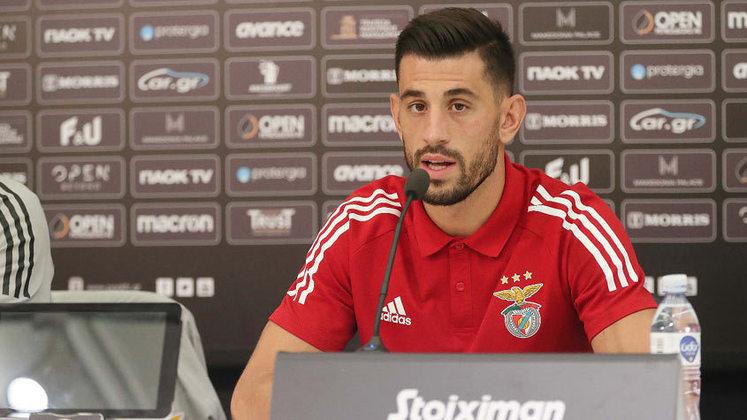 O veterano meia português Pizzi é um dos destaques do time do Benfica. O talento em campo deve garantir bons jogos pelo time encarnado.