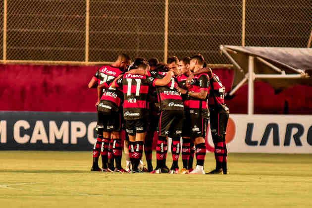 O Vitória teve 12 desfalques por Covid-19 para enfrentar o Fluminense de Feira pela primeira fase do Campeonato Baiano.