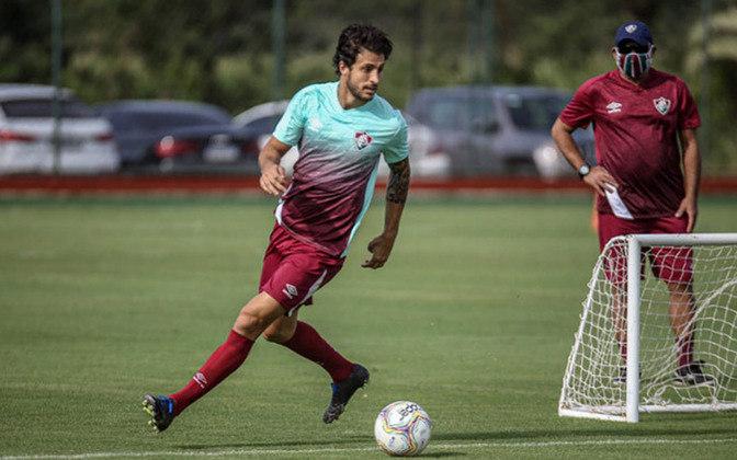 O volante Hudson, emprestado ao Fluminense, também tem contrato com o São Paulo até dezembro de 2021.