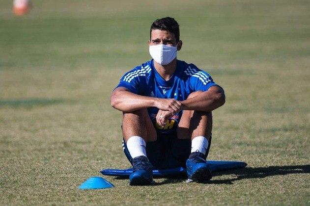 O volante Jean está emprestado ao Cruzeiro até dezembro de 2020, mesmo período em que se encerra seu vínculo com o clube paulista.