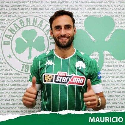 O volante Maurício, que já defendeu o Fluminense, foi anunciado como novo reforço do Panathinaikos, da Grécia. O jogador de 31 anos assinou por duas temporadas.