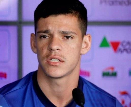 O volante Ronaldo está emprestado ao Bahia até dezembro desta temporada, mesmo período que termina seu contrato com o Flamengo.