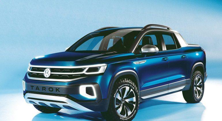 O Volkswagen Tarok 2022  custará cerca de R$ 135 mil e o motor será flex 1.4. O curioso é que este carro tem detalhes idênticos ao do Taos, que ainda vamos apresentar, tais como capô, para-choque dianteiro, faróis e grade.