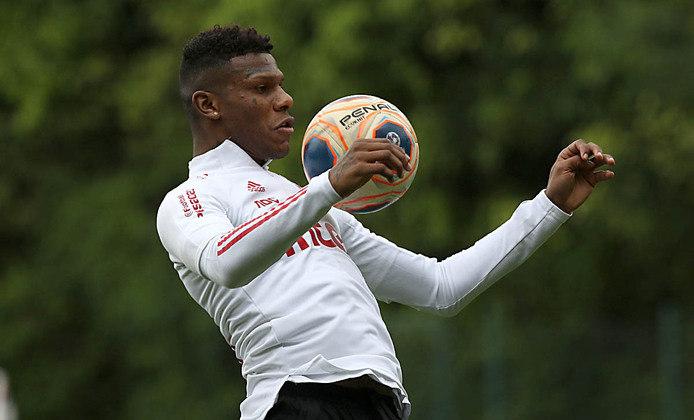O zagueiro Arboleda é um dos titulares assegurados do São Paulo.