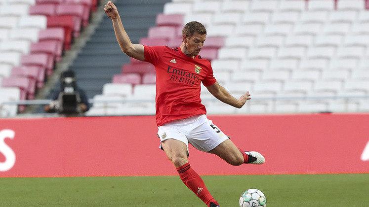 O zagueiro belga Jan Vertonghen fez carreira no Tottenham e agora chega ao Benfica para ajudar o time de Jorge Jesus.