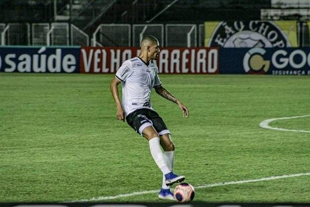 O zagueiro João Victor está emprestado ao Atlético-GO até dezembro desta temporada. Seu vínculo com o Corinthians termina em julho de 2022.