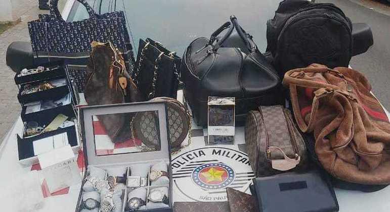 Grupo foi preso por roubo de objetos de luxo em assalto na zona sul de São Paulo