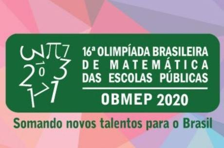 A inscrição das escolas é feita somente no site da Obmep