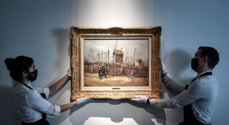 Obra foi pintada por Van Gogh em 1887