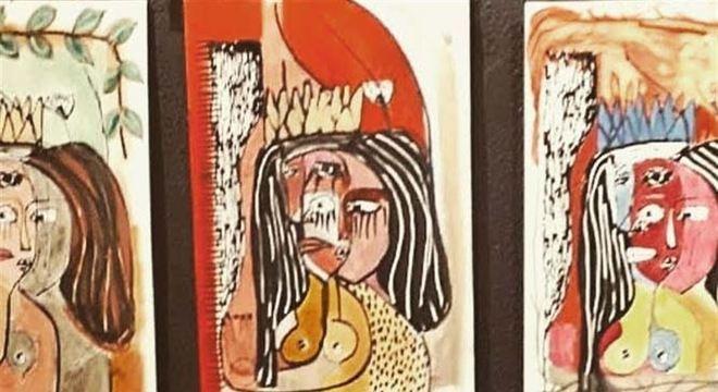 Obras da artista visual Dani Acioli