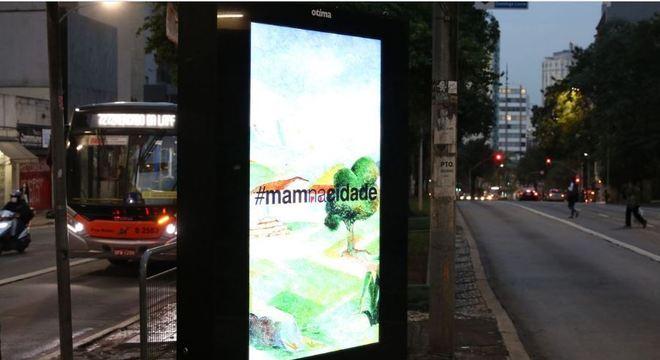 Obras do MAM serão expostas em pontos de ônibus de São Paulo
