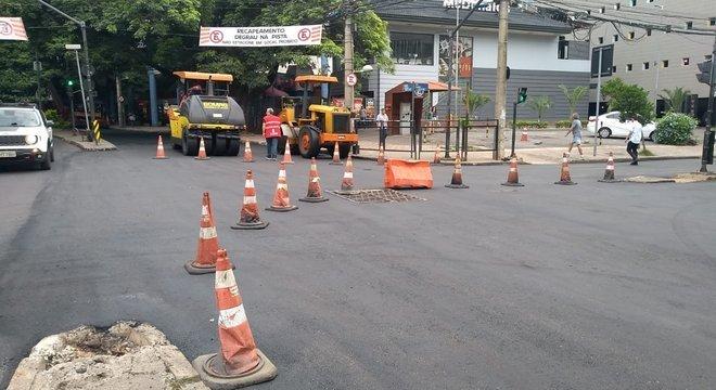 Obras de reconstrução em Belo Horizonte serão feitas em 269 pontos