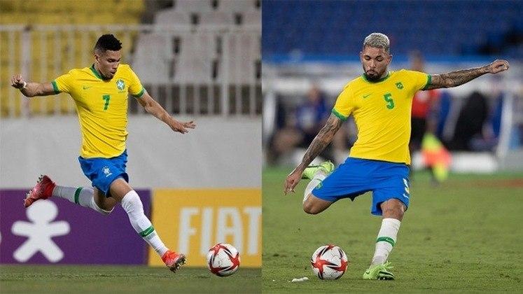 Obs: Paulinho e Douglas Luiz, revelados pelo Vasco, também estão entre os convocados para os Jogos de Tóquio, porém está lista é focada em quem participou do evento como jogador do Vasco.