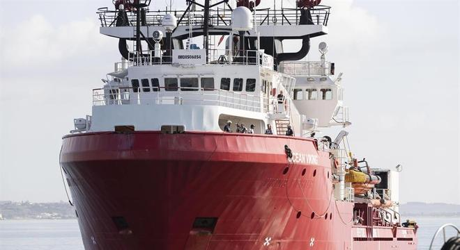 O barco Ocean Viking realizou outros dois resgates na semana passada