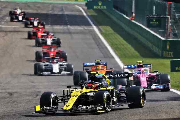 Ocon conquistou, neste domingo, seu melhor resultado pela Renault
