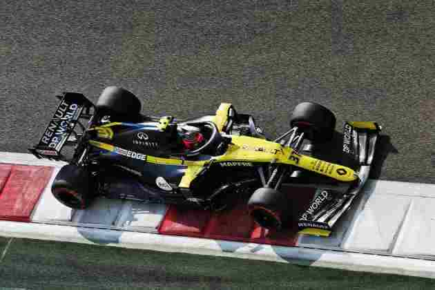 Ocon será mantido na Renault para 2021.
