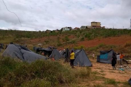 Ocupação fica no bairro Vale do Jatobá, no Barreiro
