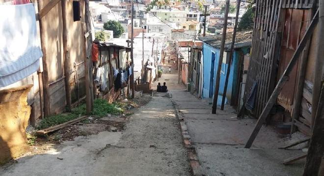 Ocupação Elza Guimarães, na zona norte, que abriga 117 famílias