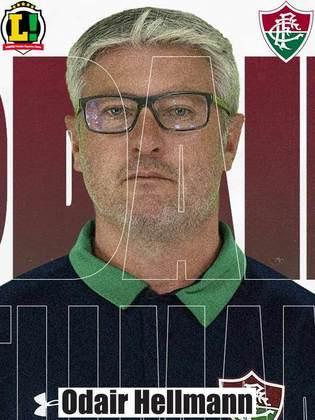 ODAIR HELLMANN - 5,0 - A estratégia do treinador não funcionou na primeira etapa, e o Fluminense não conseguia finalizar contra o gol adversário. A equipe melhorou na criação de jogadas na segunda etapa, mas a pressão não foi o suficiente para conseguir o empate fora de casa.