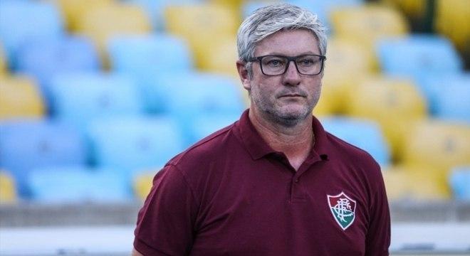 Odair Hellmann foca em estratégia para dificultar o potencial do Flamengo