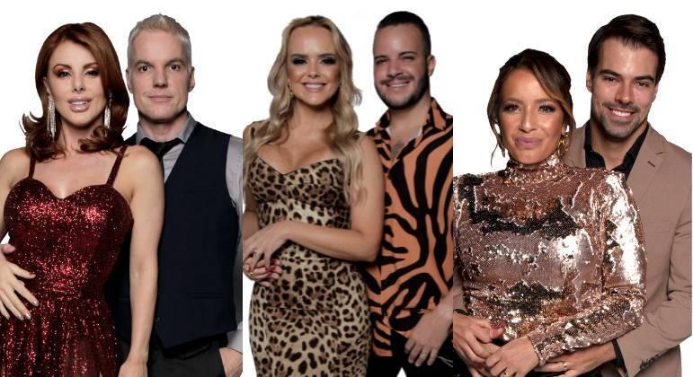 Deborah e Bruno, Nina e Filipe e Renata e Leandro formam a oitava DR