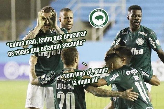 Oitavas de final (ida - 25/11/2020) - Delfín 1 x 3 Palmeiras