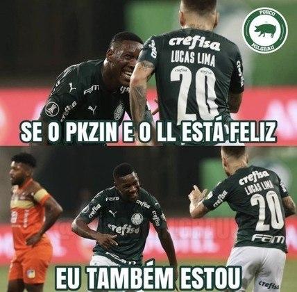 Oitavas de final (volta - 02/12/2020) - Palmeiras 5 x 0 Delfín
