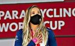 Oksana Masters é um fenômeno no mundo dos esportes. Extremamente versátil, Oksana já competiu em quatro Jogos Paralímpicos, tanto nos Jogos de Verão, quanto nos Jogos de Inverno. A para-atleta é uma verdadeira inspiração para todos e, nesta Paralimpíada de Tóquio, irá competir na modalidade de Handbike!