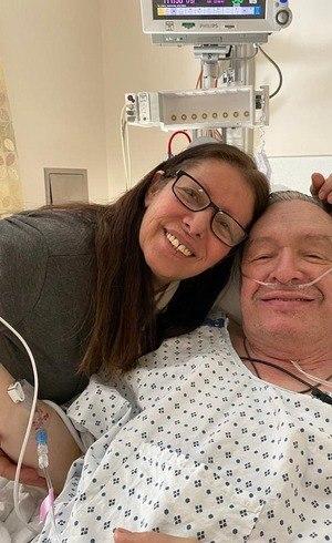 Olavo ficou 2 dias em hospital