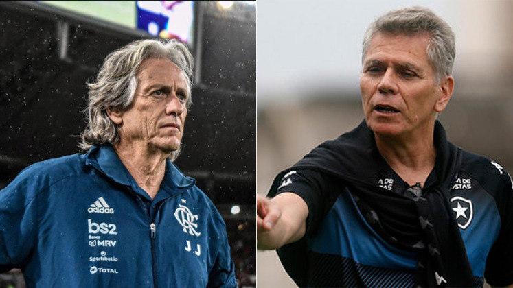 Olê, olê, olê... O futebol envolvente e os títulos conquistados deram a Jorge Jesus a vitória sobre o concorrente Paulo Autuori, que está iniciando um trabalho no Botafogo.