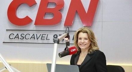 Olga Bongiovanni na CBN Cascavel