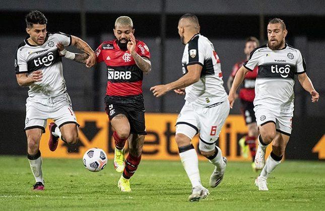 Olímpia (PAR) 1x4 Flamengo - Ida das quartas de final da Libertadores, no Manuel Ferreira: goleada no Paraguai teve brilho de Gabigol, com dois gols e uma assistência. Arrascaeta e Vitinho também marcaram