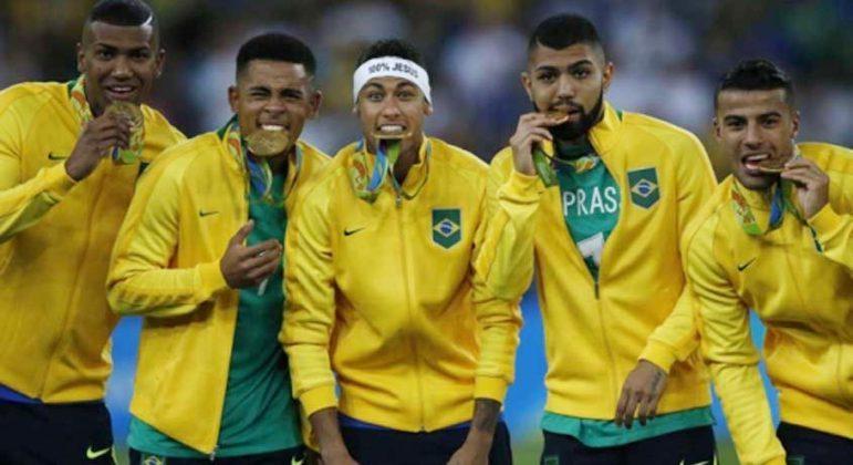 Brasil foi campeão olímpico no futebol masculino em 2016