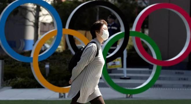 A pandemia de coronavírus obrigou o inédito adiamento da Olimpíada