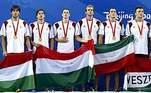 Com nove medalhas de ouro, a Hungria é a maior campeã olímpica do polo aquático masculino com sobras. Em segundo lugar vem a Grã-Bretanha, com quatro títulos na história