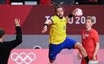 Brasil estreou com derrota para a Noruega no handebol masculino