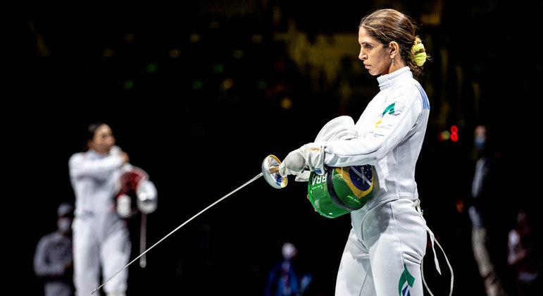 Nathalie Moellhausen era esperança de medalha no primeiro dia de Tóquio 2020