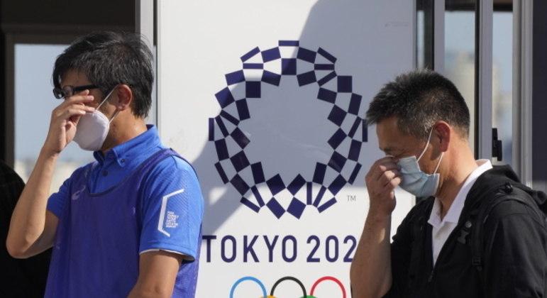 Casos de covid-19 entre os envolvidos na Olimpíada não param de subir