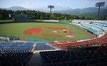 Estádio de beisebol de Azuma (Fukushima) : O nordeste do país, principal região afetada em 2011 pelo terremoto, tsunami e acidente nuclear de Fukushima, foi associado simbolicamente ao projeto olímpico, chamado de 'Jogos da Reconstrução' pelo governo.  Os torneios olímpicos de beisebol, esporte muito popular no Japão, e softbol acontecerão no estádio de Azuma, na cidade de Fukushima.
