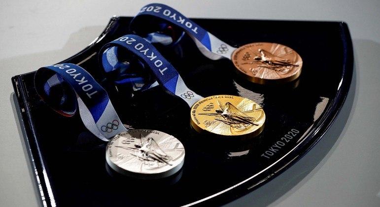 Medalhas dos Jogos Olímpicos de Tóquio