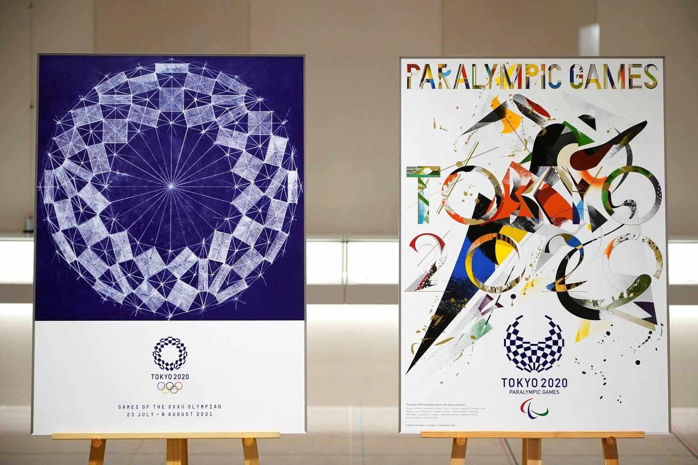 Posters da Olimpíada e Paralimpíada de Tóquio