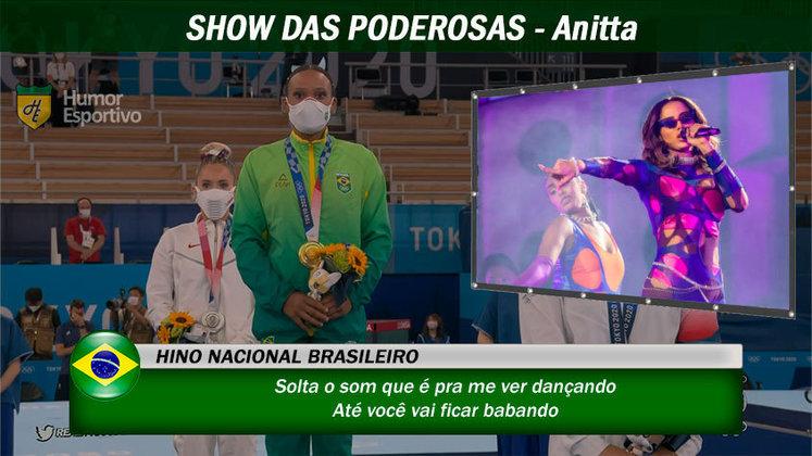 Olimpíadas de Tóquio: Anitta já é uma celebridade internacional e, certamente, muitos gringos cantariam