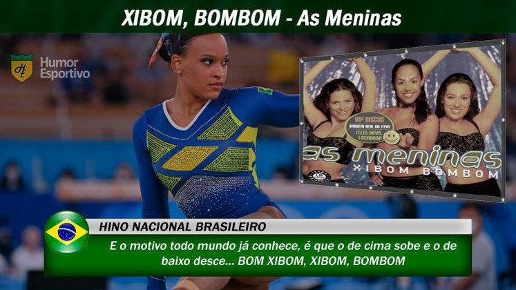Olimpíadas de Tóquio: muitos brasileiros erram trechos do hino nacional e com essa música não seria diferente.