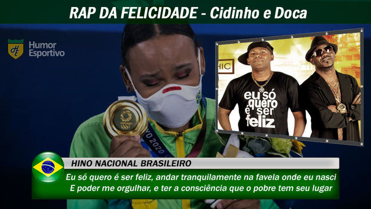 Olimpíadas de Tóquio: Uma letra que traduz a realidade de muito cidadão brasileiro, que sente orgulho das suas origens. O