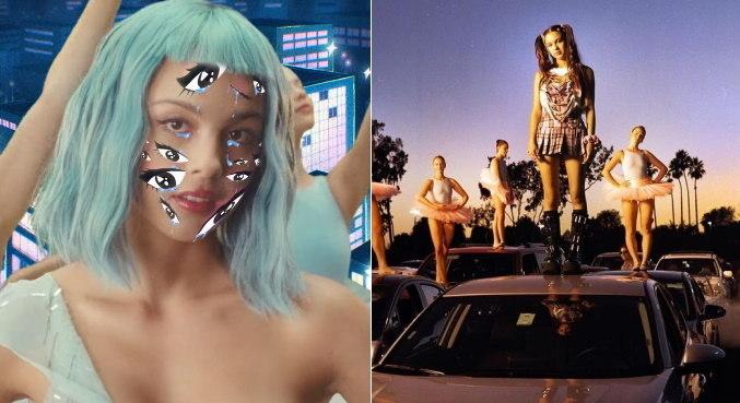 Em 'brutal', Olivia Rodrigo usa diferentes visuais e encarna várias personagens