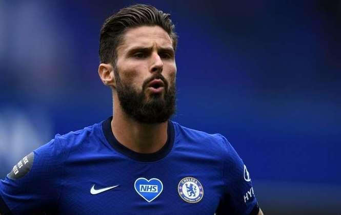 Olivier Giroud (34 anos) - Posição: atacante - Clube atual: Chelsea - Valor atual: 5 milhões de euros