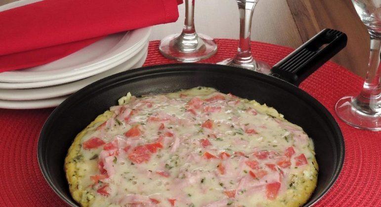 Omelete de couve-flor