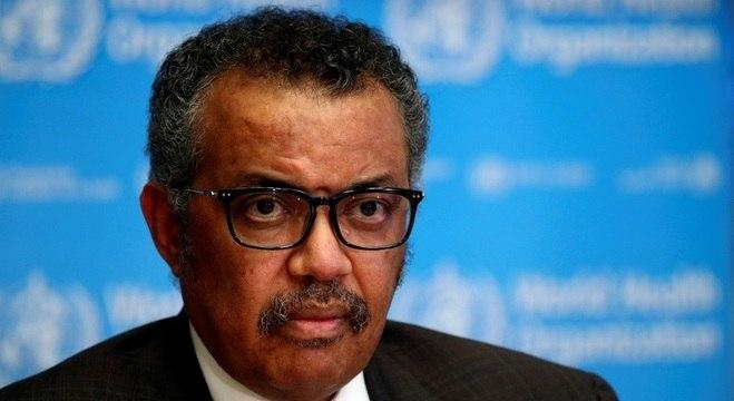Informação foi confirmada pelo diretor-geral da OMS, Tedros Adhanom