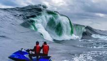 Onda sinistra desafia surfistas na Austrália: 'Pode ser vida ou morte'